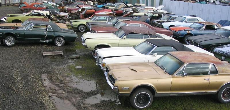 Salvage yards for cars near me